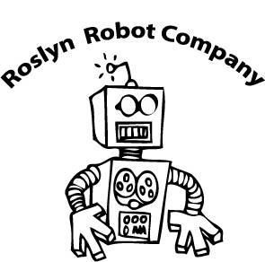 Roslyn Robot T-Shirt Logo