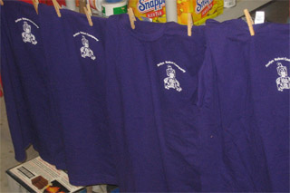 Roslyn Robot Company T-shirts Hanging