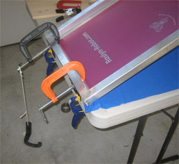 Homemade Silk Screen Printing Frame